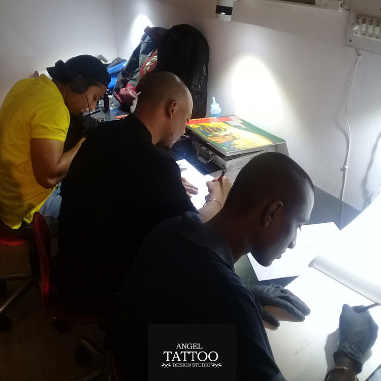 Tattoo Learning Classes Amritsar, Tattoo Training Amritsar
