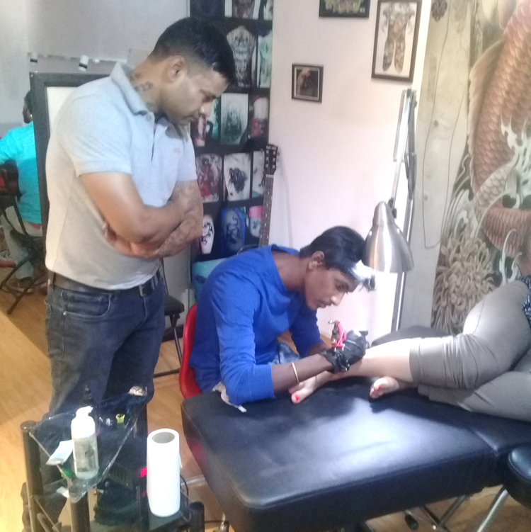 Tattoo making classes near me in Kochi, tattoo training kerala